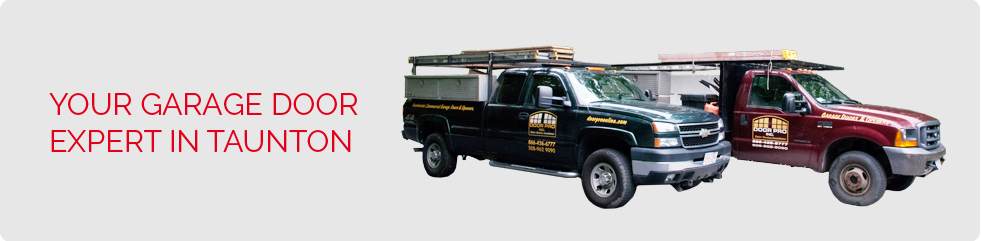 Your garage door expert in Taunton